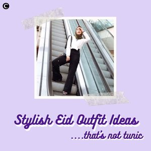 Nggak terasa ya, Clozetters, sudah memasuki hari ke-29 Ramadhan yang artinya tinggal 2 hari lagi menuju lebaran! Walaupun lebaran kali ini kita #dirumahaja, tapi tetap harus berpenampilan rapi dong. Sudah memikirkan outfit untuk lebaran nanti? Kalau kamu ingin menggunakan outfit selain tunik, kamu bisa intip video berikut tentang stylish eid outfit ideas that's not tunic!✨.📷 @priscaangelina @hisafu @fazkyazalicka @vicisienna #ClozetteID #ClozetteIDVideo