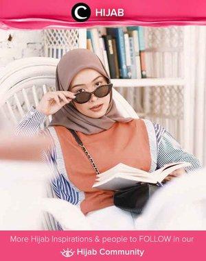 Make today so awesome yesterday gets jealous. Happy Wednesday! Image shared by Clozetter @fazkyazalicka. Simak inspirasi gaya Hijab dari para Clozetters hari ini di Hijab Community. Yuk, share juga gaya hijab andalan kamu.