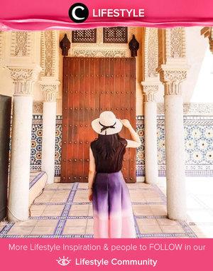Clozette Ambassador @jessicasisy shows her longing for traveling in a throwback photo. Simak Lifestyle Update ala clozetters lainnya hari ini di Lifestyle Community. Yuk, share momen favoritmu bersama Clozette.