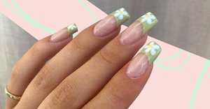 These floral nail art designs may not be groundbreaking, but they're bang on trend for spring