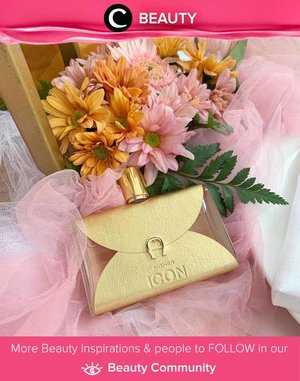 New feminine fragrance from Aigner perfume collection: ICON. The smell is fresh yet sweet! Image shared by Clozetter @steviiewong. Simak Beauty Update ala clozetters lainnya hari ini di Beauty Community. Yuk, share juga beauty product favoritmu bersama Clozette.