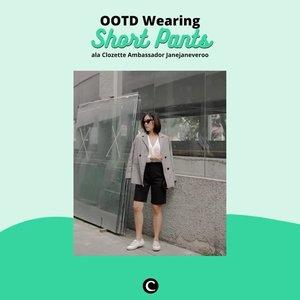 Hi, Clozetters! Untuk kamu yang masih bingung memadukan outfit, short pants bisa menjadi pilihan. Seperti Clozette Ambassador @janejaneveroo yang tampil effortless tapi tetap stylish dengan menggunakan short pants. Kamu bisa mix and match dengan blazer juga, lho! Kalau penasaran, yuk cek style @janejaneveroo pada video ini.  📷@janejaneveroo #ClozetteID #ClozetteIDVideo