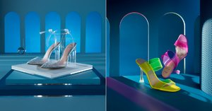 Disney x Aldo's Cinderella Glass Slipper Collection Includes Heels For the Evil Stepsisters, Too