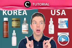 Kamu tim skincare Korea atau skincare USA nih, Clozetters? Intip perbedaannya, yuk: https://bit.ly/3myz5Lz. Video ini di-share kembali oleh Clozetter @juliahadi. Lihat juga tutorial lainnya di Tutorial Section.