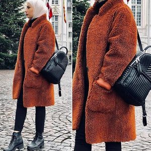 How to look chic and cozy in winter with hijab | | Just Trendy Girls