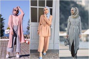 10 OOTD Hijab Untuk Tubuh Mungil Agar Terlihat Tinggi dan Elegan