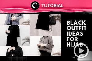 Kamu bisa mnggunakan outfit berwarna hitam tanpa terlihat monoton, lho. Intip caranya di: http://bit.ly/2MqnKiP. Video ini di-share kembali oleh Clozetter @saniaalatas. Lihat juga tutorial lainnya di Tutorial Section.