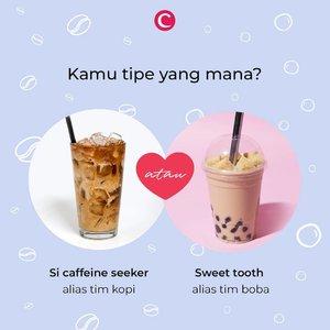 Tahun ini bisa dibilang sebagai tahunnya minuman manis, seperti boba dan es kopi susu. Walaupun sama-sama manis, kedua minuman hits ini punya penggemarnya masing-masing, lho. Kalau kamu tim mana nih, Clozetters? Tulis di kolom komentar, ya! #ClozetteID