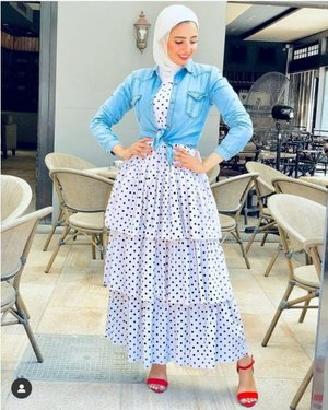 Polished hijab casual looks | | Just Trendy Girls