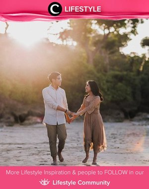 A pre-wedding session idea by Clozette Crew @vienarissanty. It's simple and warm, isn't it? Simak Lifestyle Update ala clozetters lainnya hari ini di Lifestyle Community. Yuk, share momen favoritmu bersama Clozette.