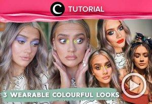 Ingin tampil beda dari biasanya? Coba kreasikan eye makeup-mu dengan nuansa colorful seperti ini, yuk. Lihat caranya di: https://bit.ly/3fJySDC . Video ini di-share kembali oleh Clozetter @kamiliasari. Lihat juga tutorial lainnya di Tutorial Section.