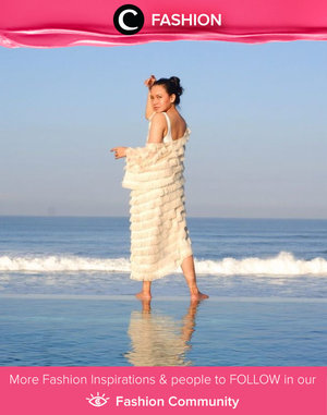 Clozette Ambassador @btariskr's beach outfit is too pretty! What do you think, Clozetters? Simak Fashion Update ala clozetters lainnya hari ini di Fashion Community. Yuk, share outfit favorit kamu bersama Clozette.