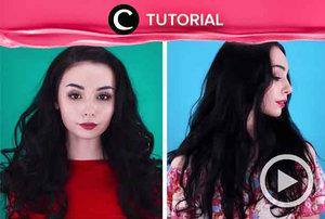 Temukan cara agar terbebas dari bad hair day di: http://bit.ly/2YATE0f. Video ini di-share kembali oleh Clozetter @aquagurl. Lihat juga tutorial lainnya di Tutorial Section.