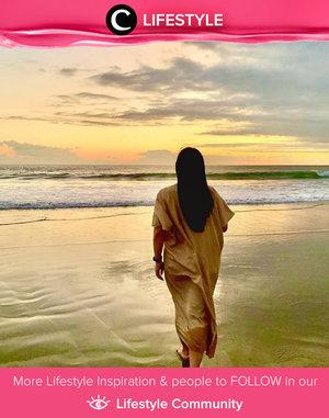 Missin' the sunset at the beach. The one that makes you feel even more grateful. Image shared by Clozette Ambassador @fanny_blackrose. Simak Lifestyle Update ala clozetters lainnya hari ini di Lifestyle Community. Yuk, share momen favoritmu bersama Clozette.