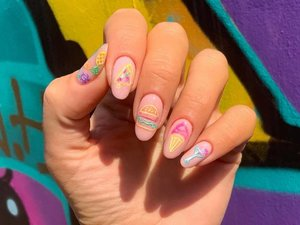 Neon Sign Nail Art That'll Instantly Brighten Your Mood