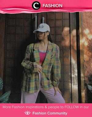 Wear your vintage blazer over your favorite activewear for serving a stylish athleisure look! Image shared by Clozetter @zalsaabil. Simak Fashion Update ala clozetters lainnya hari ini di Fashion Community. Yuk, share outfit favorit kamu bersama Clozette.