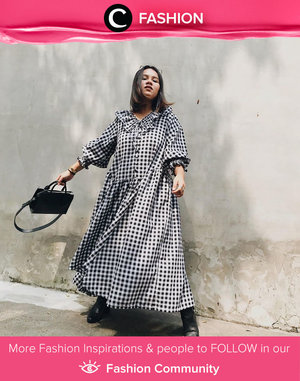 Plaid dress kinda day! Image shared by Clozetter @ubbyxx. Simak Fashion Update ala clozetters lainnya hari ini di Fashion Community. Yuk, share outfit favorit kamu bersama Clozette.