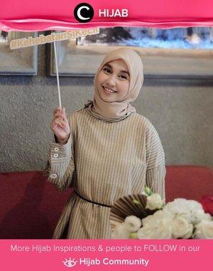 Gemar memakai tunik? Jangan lupakan sentuhan belt tipis agar penampilanmu terlihat stylish dan slim! Image shared by Clozetter @andinara.Simak inspirasi gaya Hijab dari para Clozetters hari ini di Hijab Community. Yuk, share juga gaya hijab andalan kamu.