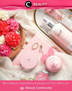 #pinkwednesday ala Clozetter @glowlicious. Spot your favorite beauty product, Clozetters? Simak Beauty Update ala clozetters lainnya hari ini di Beauty Community. Yuk, share produk favorit dan makeup look kamu bersama Clozette.