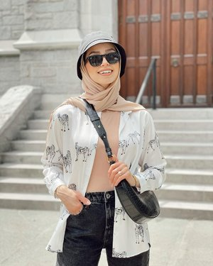 Casual Cozy Looks That Will Inspire Your Summer Hijab Outfit - Hijab-style.com