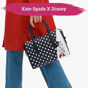 Kate Spade New York kembali membuat kejutan untuk perayaan Chinese New Year tahun ini. Kali ini Kate Spade berkolaborasi dengan Disney menyuguhkan berbagai fashion item bergaya retro dengan desain yang menggemaskan.  Terinspirasi dari karakter Clarabelle, Daisy Duck, dan Minnie Mouse, koleksi ini sudah bisa kamu dapatkan sejak tanggal 12 Januari lalu. Siapa yang tertarik🙋🏻♀️  Yuk, cari tahu lebih lanjut melalui artikel berikut bit.ly/ClzKateSpadeXDisney (LINK ON BIO)  📷 @katespadeny  #ClozetteID #KateSpade #Disney