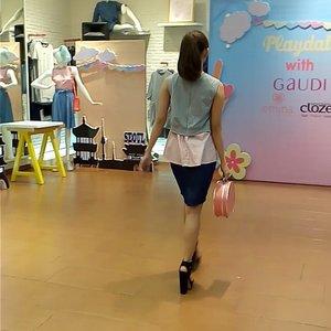 """GAUDI Playdate with @eminacosmetics and Clozette"" featuring Clozette Ambassador @adieztyfersa @gaudi_clothing #gaudiplaydate #clozetteid"