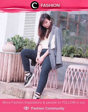 The perfect off-duty look starts with statement blazer! Inspired by Clozetter @japobs. Simak Fashion Update ala clozetters lainnya hari ini di Fashion Community. Yuk, share outfit favorit kamu bersama Clozette.