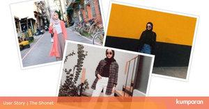 3 Inspirasi OOTD Hijab Simple Buat ke Kampus, Tampil Memesona