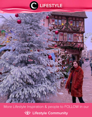 Christmas 2019 in Colmar, France. Wish to bring the Christmas vibes back this 2021. Image shared by Clozetter @stellangelita. Simak Lifestyle Update ala clozetters lainnya hari ini di Lifestyle Community. Yuk, share momen favoritmu bersama Clozette.
