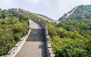Need to get outside? Take a virtual hike on the Great Wall of China from the comfort of your couch