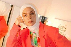 Bak Fashionista, Gaya #OOTD Tantri Namirah di Rumah