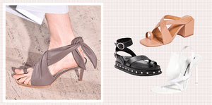 Everyone's Talking About The Toe-Strap Shoe Trend