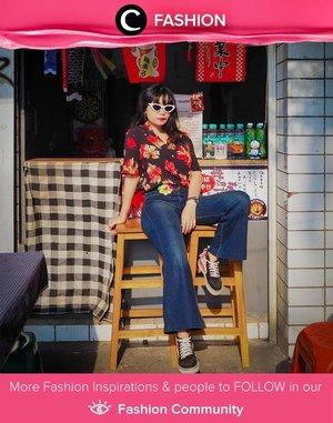 Pattern shirt and sunshine for a happy Thursday! Image shared by Clozetter @mndalicious. Simak Fashion Update ala clozetters lainnya hari ini di Fashion Community. Yuk, share outfit favorit kamu bersama Clozette.