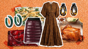 A Fashion Moodboard Inspired by Your Favorite Thanksgiving Foods