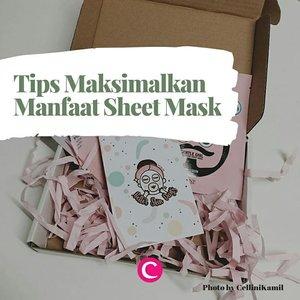 Tak bisa dipungkiri, harga sheet mask terkadang lebih tinggi dibanding jenis masker lainnya. Agar hasil yang didapat juga sepadan dan lebih maksimal, kamu bisa coba 5 tips berikut. Swipe, swipe..#ClozetteID#ClozetteIDCoolJapan#SheetMask #mediheal #emina #babor #skii