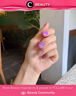 Lilac mood everywhere! Image shared by Clozetter @chelsheaflo. Simak Beauty Update ala clozetters lainnya hari ini di Beauty Community. Yuk, share produk favorit dan makeup look kamu bersama Clozette.