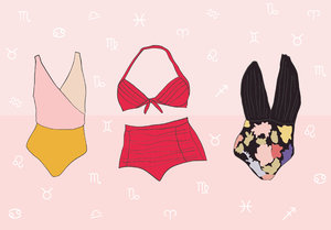 This is the summer swimsuit you should buy, based on your zodiac sign