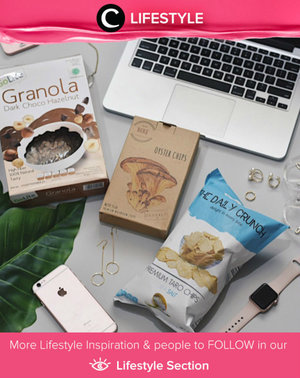 Let's be healthier by eating more veggies, less meat and healthy snacks. I You don't feel guilty anymore when snacking. Simak Lifestyle Updates ala clozetters lainnya hari ini di Lifestyle Section. Image shared by Clozetter: @devinahakim. Yuk, share momen favorit kamu bersama Clozette.