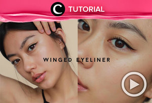 Super natural winged eye liner: https://bit.ly/3izhEYx. Video ini di-share kembali oleh Clozetter @aquagurl. Lihat juga tutorial lainnya di Tutorial Section, ya.
