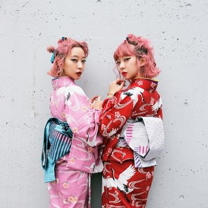 These Pink-Haired Japanese Twins Are Your Future Fashion Icon