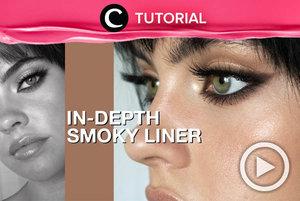Ingin tampil berbeda dari biasanya? Coba smoky eyeliner seperti ini, yuk: http://bit.ly/33iBsIJ. Video ini di-share kembali oleh Clozetter @ranialda. Simak juga tutorial lainnya di Tutorial Section.