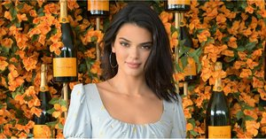 Kendall Jenner's Minidress Gives Off Renaissance Vibes in the Best Way Possible