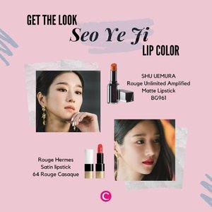 Ada yang sedang ikutin drama Korea It's Okay To Not Be Okay? Gaya Seo Ye Ji yang selalu on fleek memang terkadang membuat penonton salah fokus! Kali ini Clozette punya bocoran produk-produk yang bisa kamu coba untuk mendapat signature lip color ala Ko Moon Young yang terlihat sering menggunakan warna nude dan sesekali menggunakan warna merah cerah. Hayo yang nungguin episode baru mana suaranya?.📷@tvndrama.official @shuuemura @hermes#ClozetteID #ClozetteXCoolJapan #ClozetteIDCoolJapan #ItsOkayToNotBeOkay #SeoYeJi #KoMoonYoung#PsychoButItsOkay