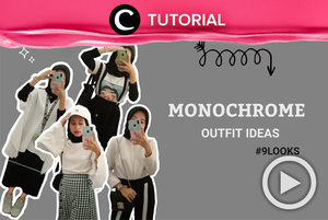 Here are some monochrome outfit ideas for your formal and casual occasion: https://bit.ly/3dJHE2a. Video ini di-share kembali oleh Clozetter @saniaalatas. Lihat juga tutorial lainnya di Tutorial Section.
