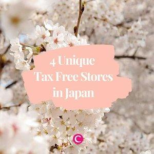 Berburu suvenir unik sebagai oleh-oleh, atau sekedar membeli untuk diri sendiri, pastikan mampir ke 4 toko unik di Jepang ini. Psst, bebas pajak!.#ClozetteID #ClozetteIDCoolJapan #ClozetteXCoolJapan