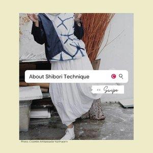 Berkat keharusan untuk #DiRumahAja selama pandemi, tren lounge wear dengan motif tye dye dan shibori kembali populer saat ini. Tetapi, sebenarnya apa sih bedanya tye dye dan shibori? Brand lokal apa yang menggunakan teknik shibori? Swipe, swipe untuk tau jawabannya. . 📷@karinaorin @leonisecret @theladyulia @s.y.studio @bybinzu,sumono.design,fitinline.com,theprintedfabricbee. blogspot.com #ClozetteID #ClozetteIDCoolJapan #ClozetteXCoolJapan #shibori