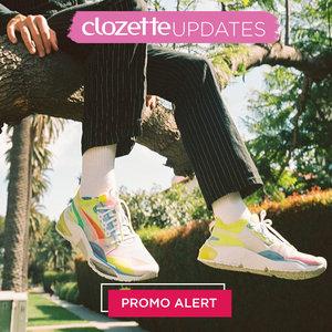 In the need of new shoes? Our Daily Dose got your back! Lihat info lengkapnya pada bagian Premium Section aplikasi Clozette. Bagi yang belum memiliki Clozette App, kamu bisa download di sini https://go.onelink.me/app/clozetteupdates. Jangan lewatkan info seputar acara dan promo dari brand/store lainnya di Updates section.