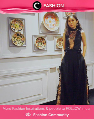 Yes to this glam-party look by Clozetter @syanstephanie. She got her dress from LUKE CHAN, available to rent on Style Theory. Simak Fashion Update ala clozetters lainnya hari ini di Fashion Community. Yuk, share outfit favorit kamu bersama Clozette.