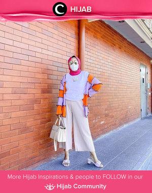 Colorful Sunday idea by Clozetter @rizunaswon. Simak inspirasi gaya Hijab dari para Clozetters hari ini di Hijab Community. Yuk, share juga gaya hijab andalan kamu.