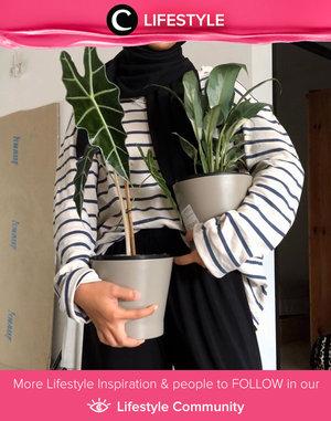 Semenjak karantina, sudah berapa banyak koleksi tanamanmu, Clozetters? Yuk, share juga di Lifestyle Community seperti Clozette Ambassador @imeldaaf.